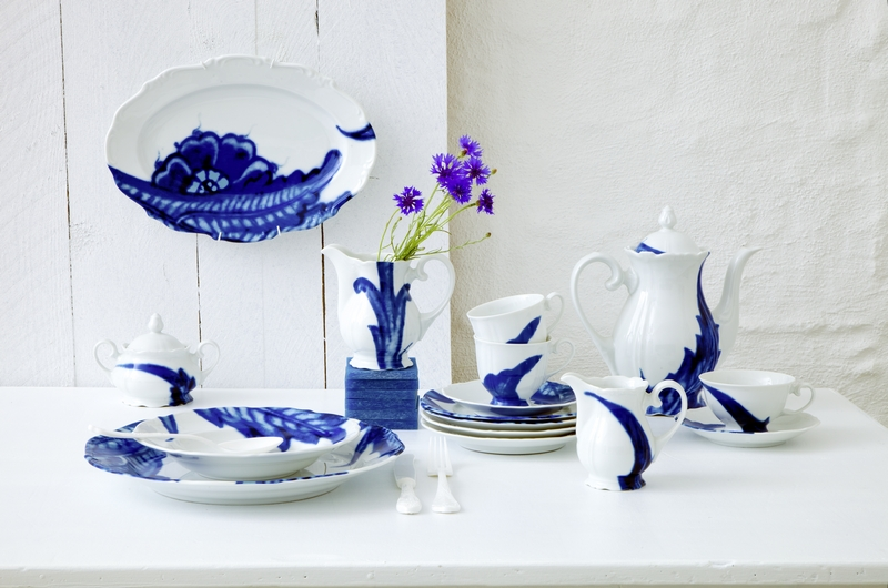 Paola Navone Taste White Baroque Vase Reichenbach Porzellanmanufaktur Germany